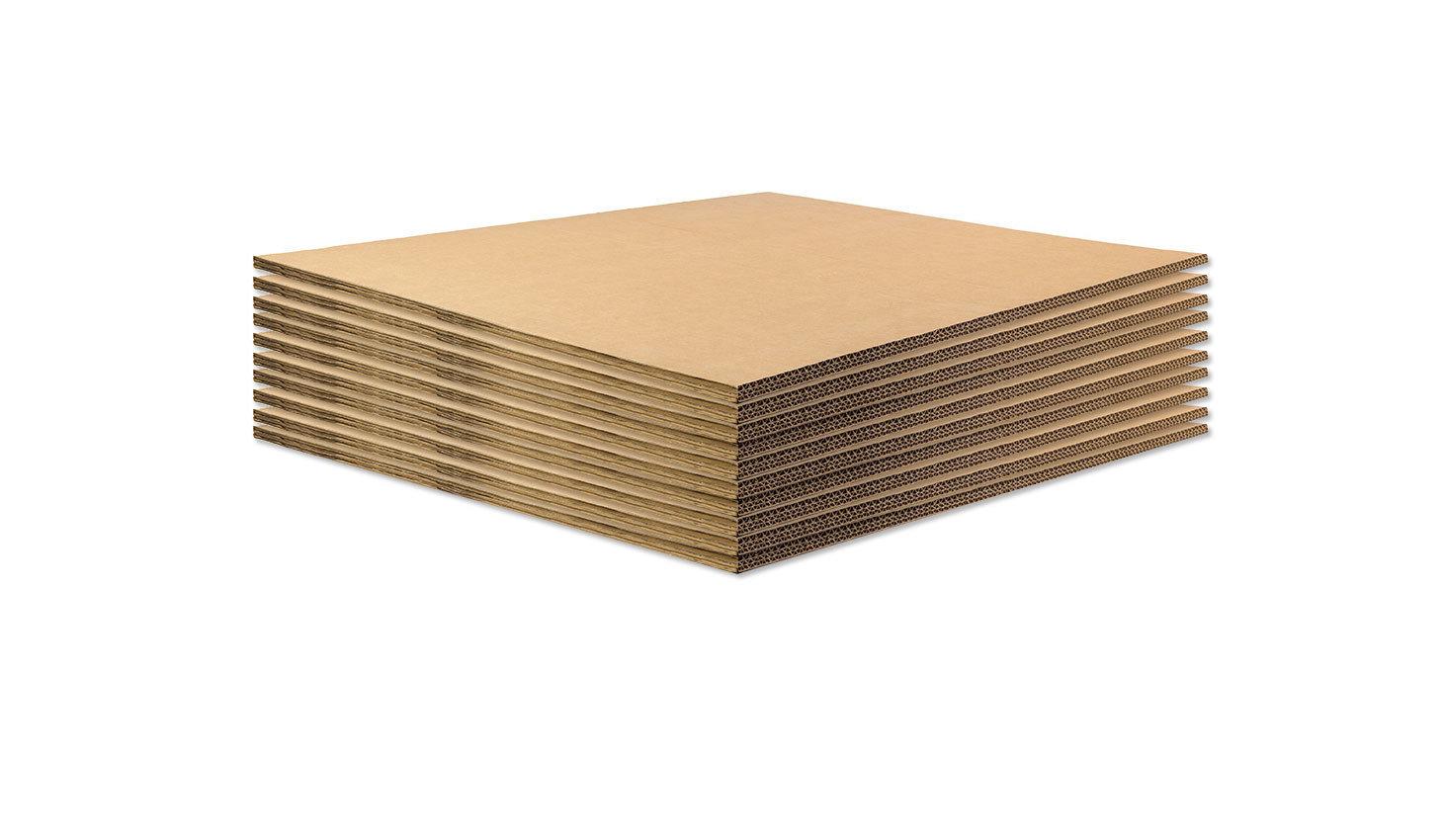 BASE IN CARTONE per ECOPALLET 80x60cm x 14mm • 10 pezzi