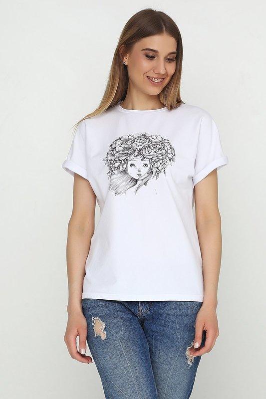 футболка Повитруля пион