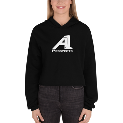 A1 Prospects Black Crop Hoodie