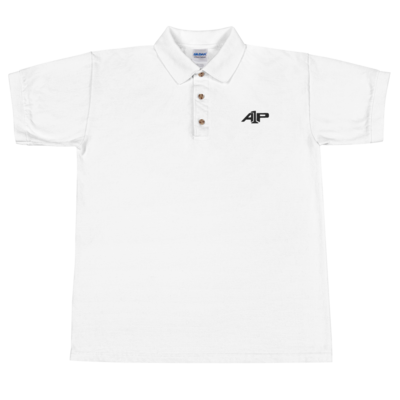 A1P Collared Shirt White