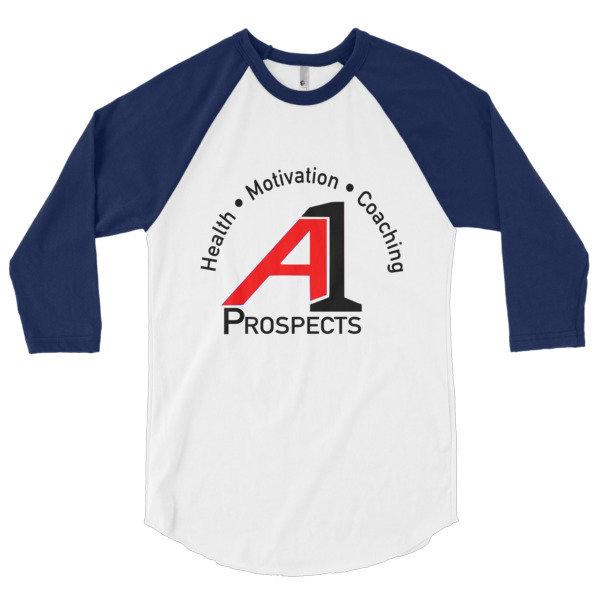 A1P HMC 3/4 sleeve Retro - Health • Motivation • Coaching 00012