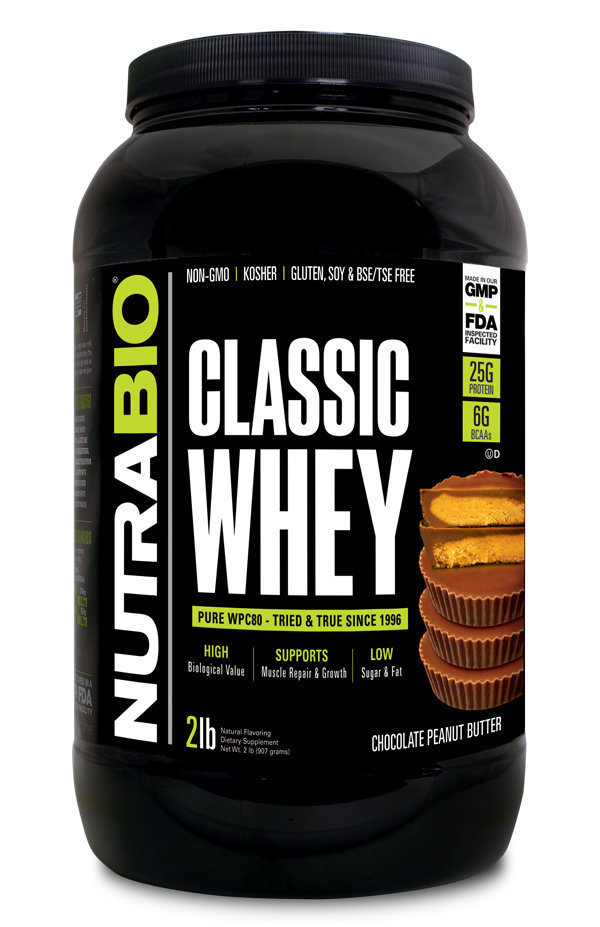 Protein Classic 2 Lbs Choclate Peanut Butter Nutrabio_ProteinClassic_ChocolatePB_2lbs