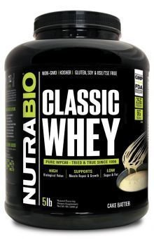 Protein Classic 5 Lbs Cake Batter Nutrabio_ProteinClassic_CakeBatter_5lbs