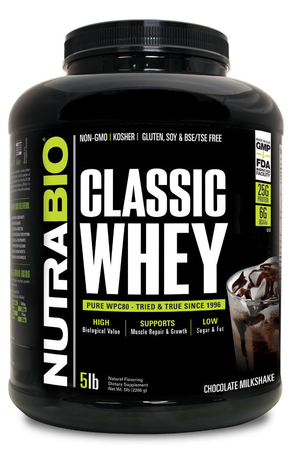 Protein Classic 5 Lbs Cholate Nutrabio_ProteinClassic_Chocolate_5lbs