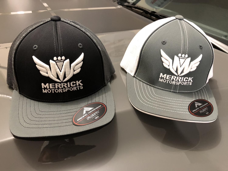 3ea8afd346c61 Merrick Motorsports Flexfit Youth Size 6 3 8 - 6 7 8 Mesh Hat