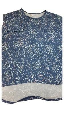 Irma LuLaRoe Tunic XX-Large (2XL) Multicolor Geometric Floral Fits Womens Sizes 24-26