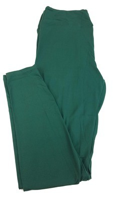 Tall Curvy 2 (TC2) Solids Ponderosa Pine Green LuLaRoe Leggings