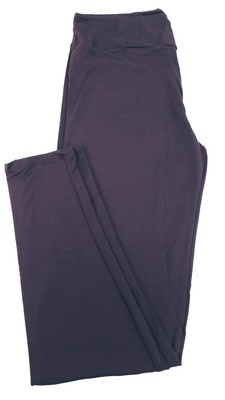 Tall Curvy 2 (TC2) Solids Potent Purple LuLaRoe Leggings