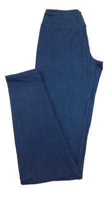 One Size (OS) Solids Navy Blue (Black Iris) LuLaRoe Adult Womens Leggings fit Sizes 2-10