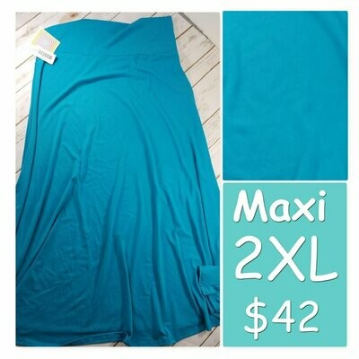 MAXI XX-Large (2XL) LuLaRoe Womens A-Line Skirt fits 22-24