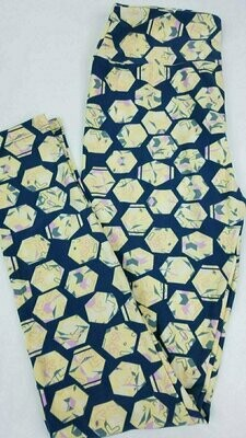 One Size (OS) Polka Dots LuLaRoe Leggings fits sizes 2-10