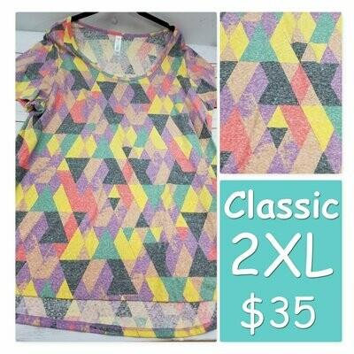 CLASSIC XX-Large (2XL) LuLaRoe Tee Shirt
