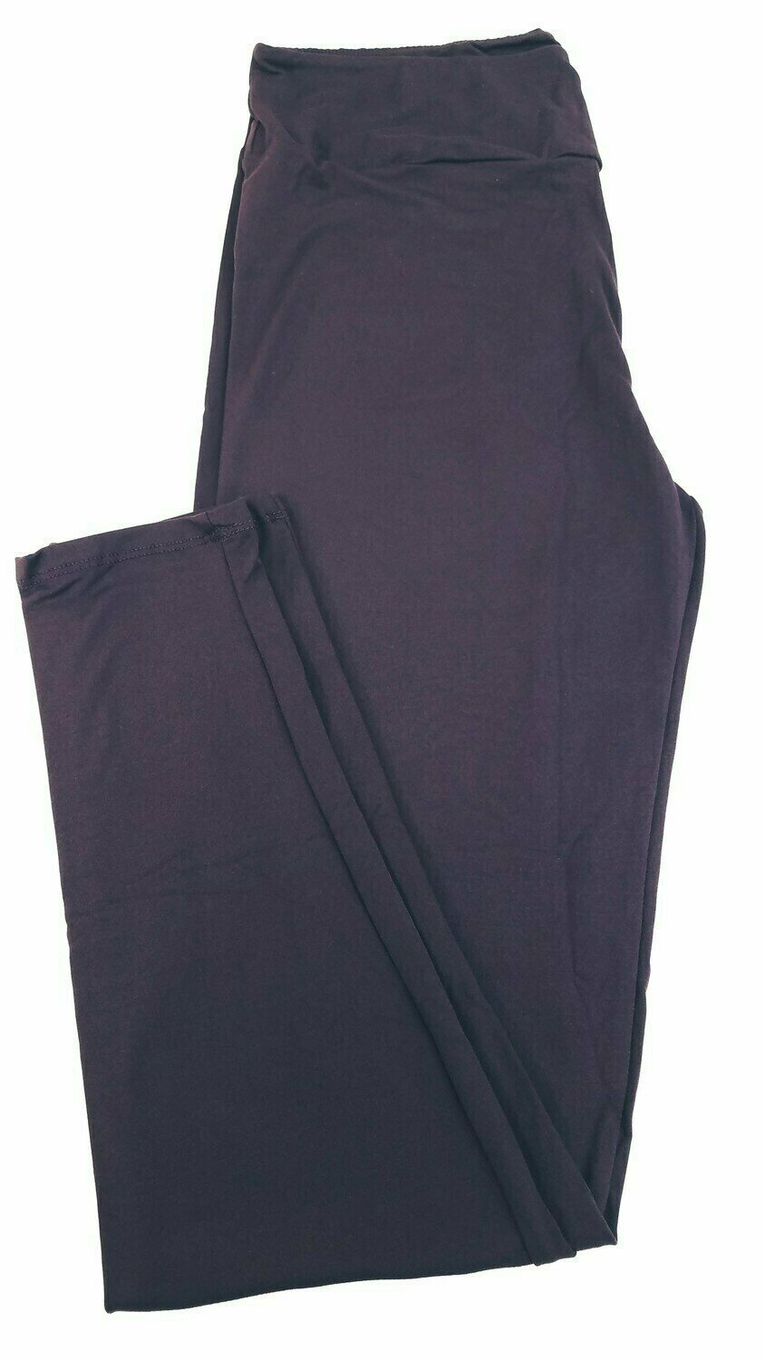 One Size (OS) Solid Potent Purple LuLaRoe Adult Womens Leggings fit Sizes 2-10