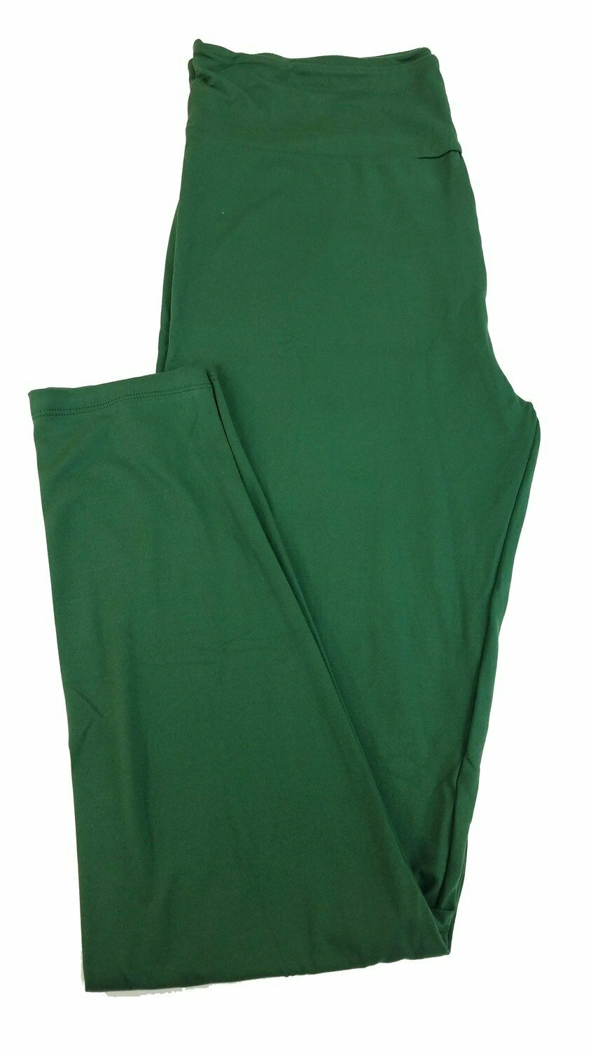 Tall Curvy 2 (TC2) Solids Hunter Green LuLaRoe Leggings