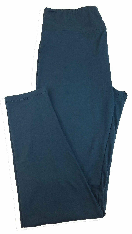 Tall Curvy 2 (TC2) Solids Midnight Blue LuLaRoe Leggings fits Sizes 18+