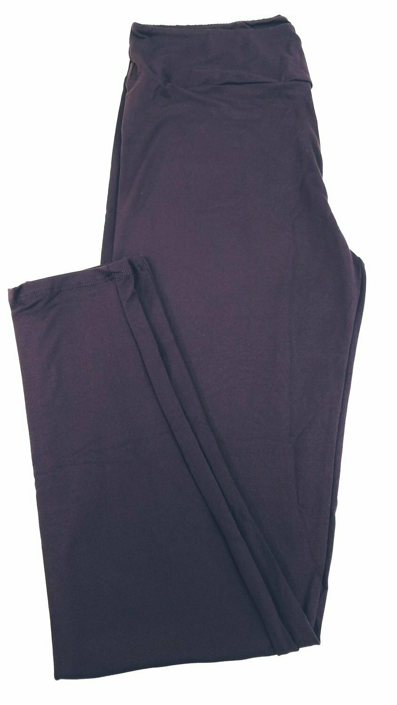 Tall Curvy 2 (TC2) Solids Potent Purple LuLaRoe Leggings fits Sizes 18+