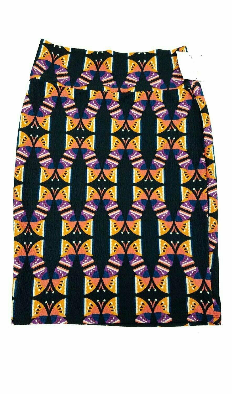 Cassie Large (L) LuLaRoe Womens Knee Length Pencil Skirt fits 14-16