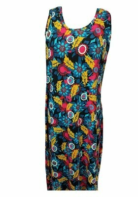 DANI Floral Multicolor X-Large (XL) LuLaRoe Womens Column Dress  Fits sizes 14-16