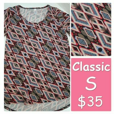 CLASSIC Small (S) LuLaRoe Tee Shirt