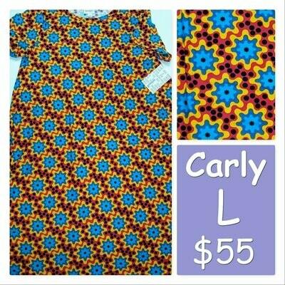 CARLY Large (L) LuLaRoe Womens Dress