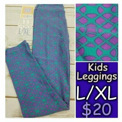 Leggings Kids Large-XL (LXL) LuLaRoe Geometric fits sizes 8-14
