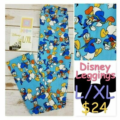 Leggings Kids Large-XL (LXL) LuLaRoe Disney fits sizes 8-14