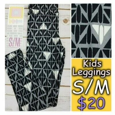 Kids Small-Medium (SM) Animals and Objects LuLaRoe Leggings fits sizes 2-8