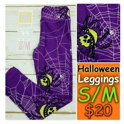Kids Small-Medium (SM) Halloween LuLaRoe Leggings fits sizes 2-8