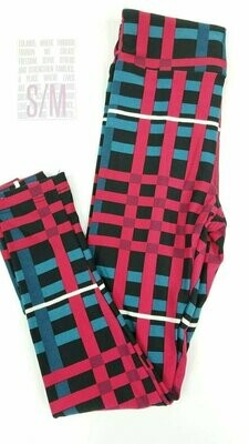 Kids Small-Medium (SM) Valentines Hearts and Love LuLaRoe Leggings fits sizes 2-8