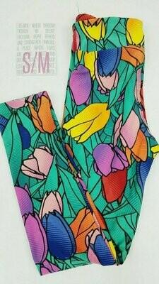 Kids Small-Medium (SM) Valentines Hearts and Love LuLaRoe Leggings fits sizes 2-8