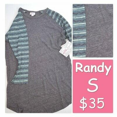 RANDY Tee Small (S) LuLaRoe Womens Shirt