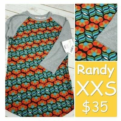RANDY Tee XX-Small (XXS) LuLaRoe Womens Shirt