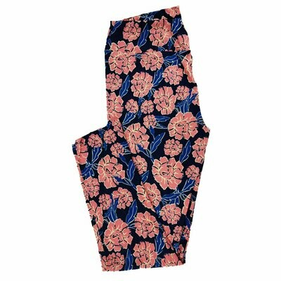 LuLaRoe Tall Curvy TC Floral Leggings fits 12-18