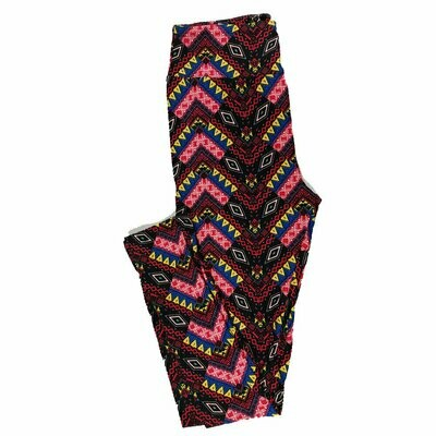 One Size (OS) Psychedelic, 70's, and Trippy LuLaRoe Leggings fits sizes 2-10