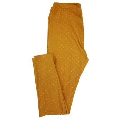 LuLaRoe Tall Curvy TC Polka Dot Geometric Leggings fits 12-18