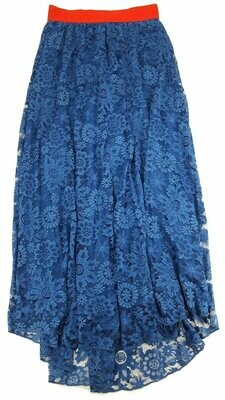 LuLaRoe Lucy X-Small (XS) Floor Length Women's Skirt fits Sizes 0-2