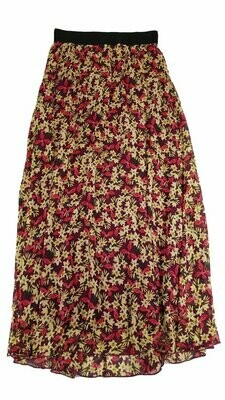 LuLaRoe Lucy X-Small (XXS) Floor Length Women's Skirt fits Sizes 0-2