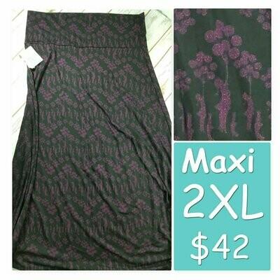 MAXI XX-Large (2XL) LuLaRoe Womens A-Line Skirt fits 22-24.99