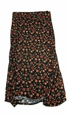 MAXI XX-Large (2XL) LuLaRoe Womens A-Line Skirt fits 22-24