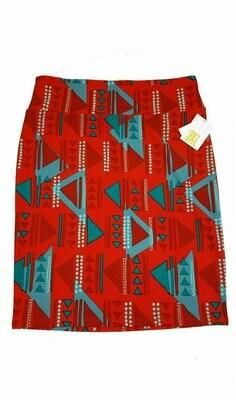 Cassie XXX-Large (3XL) LuLaRoe Womens Knee Length Pencil Skirt fits 24.99-26