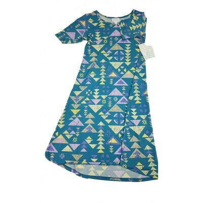 Kids Adeline LuLaRoe Swing Dress Size 12 fits kids 12-14
