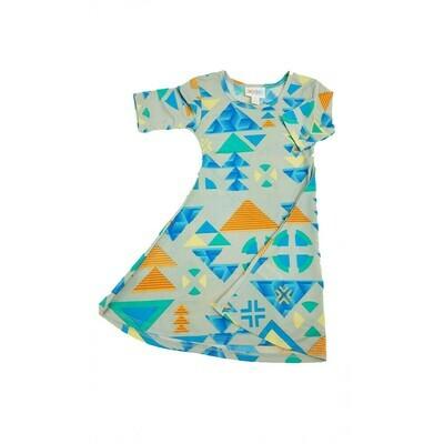 Kids Adeline LuLaRoe Swing Dress Size 2 fits kids 2T-4