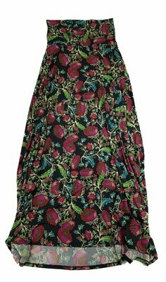 MAXI XX-Small (XXS) LuLaRoe Womens A-Line Skirt fits 00-0