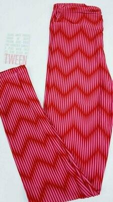 Tween (Tween) Valentine Adult LuLaroe Leggings Fits Adult Sizes 00-0