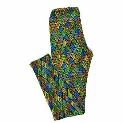 Tween LuLaRoe Leggings Geometric Fits Adult Sizes 00-0