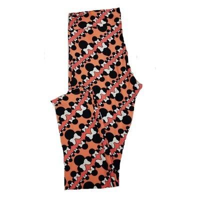 LuLaRoe Tall Curvy TC Disney Multiple Minnie Mouse Adult Leggings fits 12-18