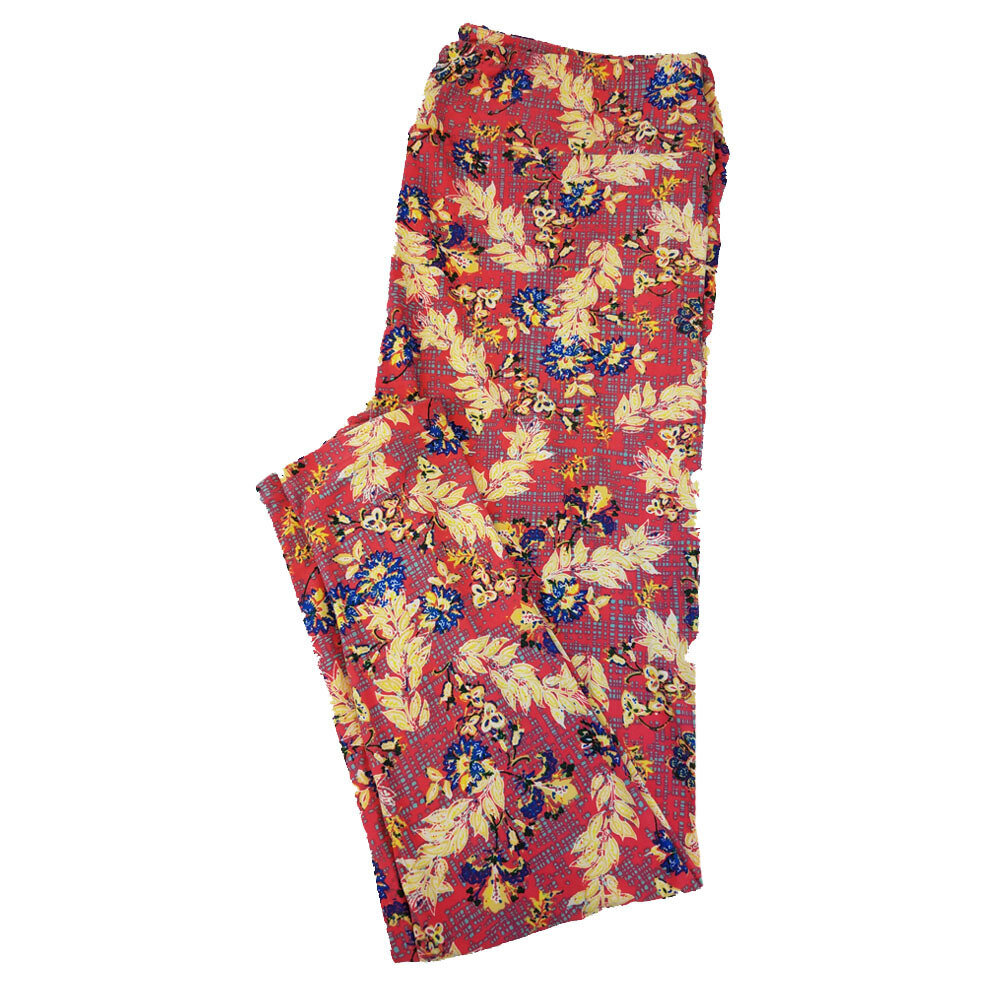 LuLaRoe TC2 Floral Leggings fits Adult Sizes 18+