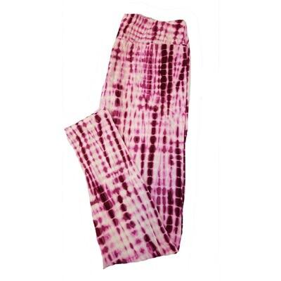 LuLaRoe TC2 Tie Dye Leggings fits Adult Sizes 18+