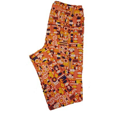 LuLaRoe TC2 Geometric Leggings fits Adult Sizes 18+