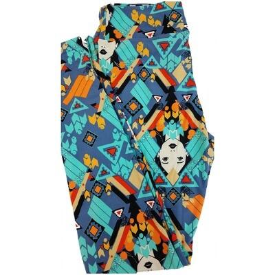 LuLaRoe One Size OS Disney Pocahontas Leggings fits sizes 2-10